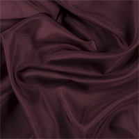Dark Brick Red Silk Habotai