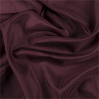 Dark Brick Red Silk Habotai
