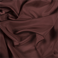 Rust Silk Habotai
