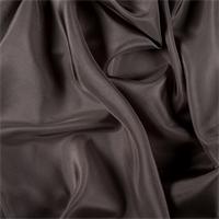 Dark Taupe Silk Habotai