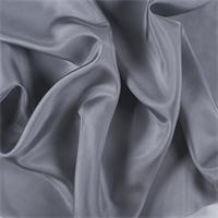 Silver Gray Silk Habotai