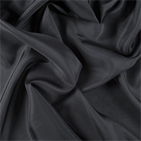 Dark Gray Silk Habotai