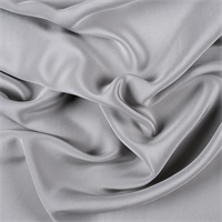 Light Gray 4 Ply Silk Crepe
