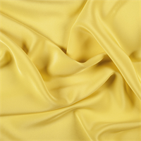 Bright Yellow 4 Ply Silk Crepe