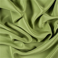 Apple Green 4 Ply Silk Crepe