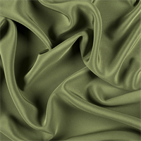 Grass Green 4 Ply Silk Crepe