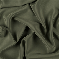 Olive Green 4 Ply Silk Crepe