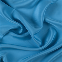 Turquoise 4 Ply Silk Crepe