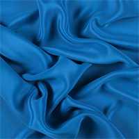 Bright Blue 4 Ply Silk Crepe