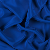 Blue 4 Ply Silk Crepe