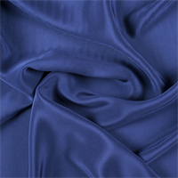 Dark Blue 4 Ply Silk Crepe