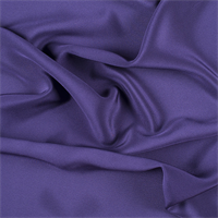 Dark Purple 4 Ply Silk Crepe
