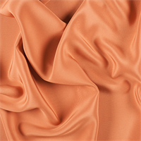 Orange 4 Ply Silk Crepe