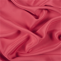 Bright Red 4 Ply Silk Crepe