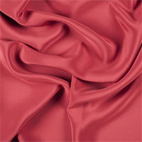 Red 4 Ply Silk Crepe