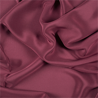 Burgundy 4 Ply Silk Crepe