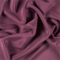 Wine 4 Ply Silk Crepe