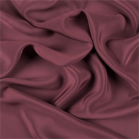 Dark Brick Red 4 Ply Silk Crepe