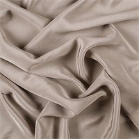 Taupe 4 Ply Silk Crepe