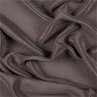 Dark Brown 4 Ply Silk Crepe