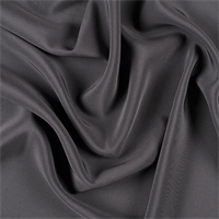 Dark Gray 4 Ply Silk Crepe