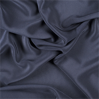 Midnight Navy 4 Ply Silk Crepe