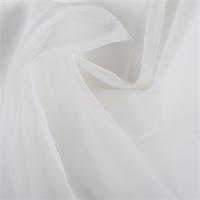 Ivory Silk Organza
