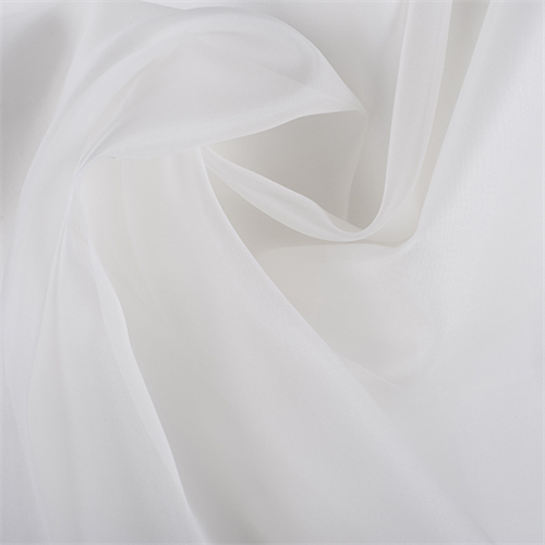 39 piece semi opaque Extra body IVORY SILK ORGANZA silk fabric 100/% silk