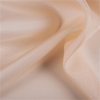 Bisque Silk Organza