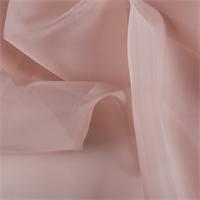 Nude Silk Organza