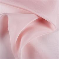 Blush Pink Silk Organza
