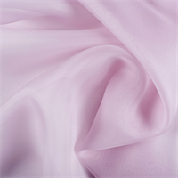 Light Orchid Silk Organza