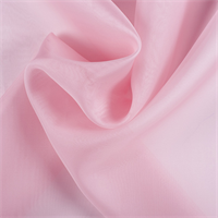 Bubble Gum Silk Organza