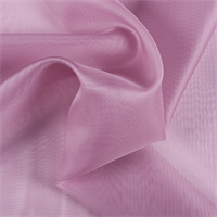 Rose Silk Organza