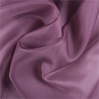 Mauve Silk Organza