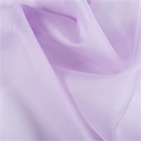 Lilac Silk Organza