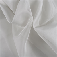 Light Gray Silk Organza