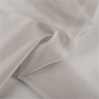 Light Taupe Silk Organza