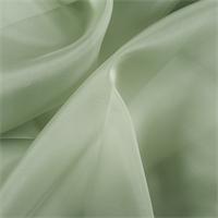 Dark Sage Silk Organza