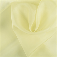Peridot Silk Organza