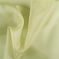 Celery Silk Organza