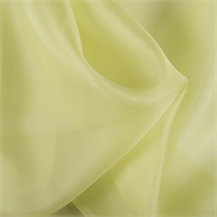 Light Lime Silk Organza