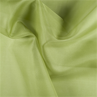 Apple Green Silk Organza
