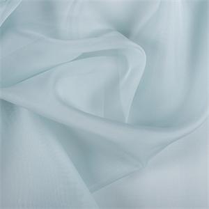 Pale Blue Silk Organza 3000m143 Discount Fabrics