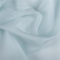 Pale Blue Silk Organza