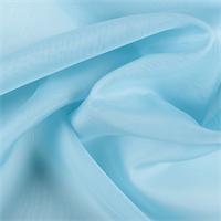Aqua Silk Organza