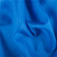 Sapphire Silk Organza