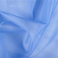 Periwinkle Silk Organza