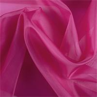 Fuschia Silk Organza