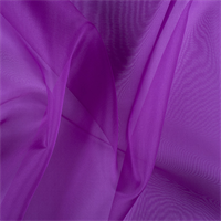 Grape Silk Organza